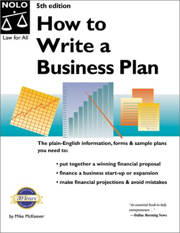 9780873375443: How to Write a Business Plan