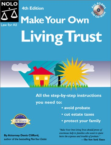 9780873375566: Make Your Own Living Trust (Make Your Own Living Trust, 4th ed)