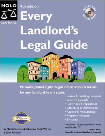 9780873375573: Every Landlord's Legal Guide (Book & CD-ROM)