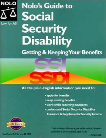9780873375740: Nolo's Guide to Social Security Disability: Getting & Keeping Your Benefits (Nolo's Guide to Social Security Disability, 1st ed)