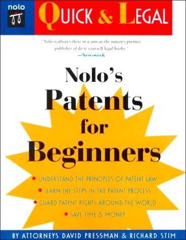 9780873375757: Nolo's Patents for Beginners (Quick & legal)