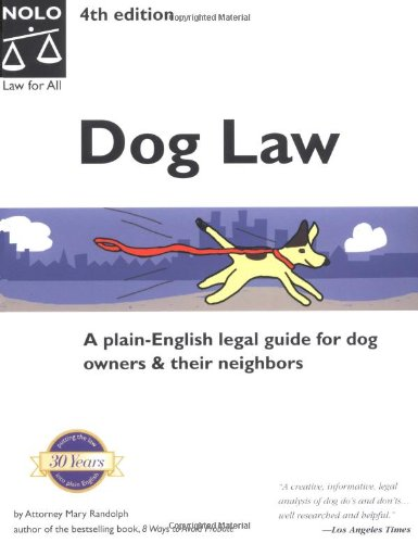 9780873376167: Dog Law (4th National Edition)