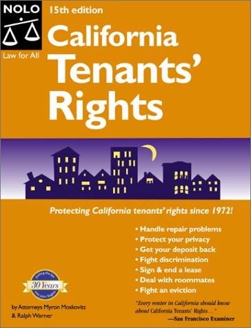 9780873376440: California Tenants' Rights