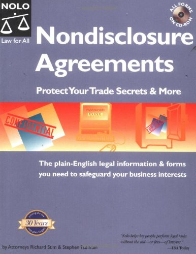 9780873376464: Nondisclosure Agreements: Protect Your Trade Secrets and More: The plain-English legal information & forms you need to safeguard your business interests