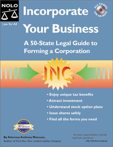 9780873377560: Incorporate Your Business