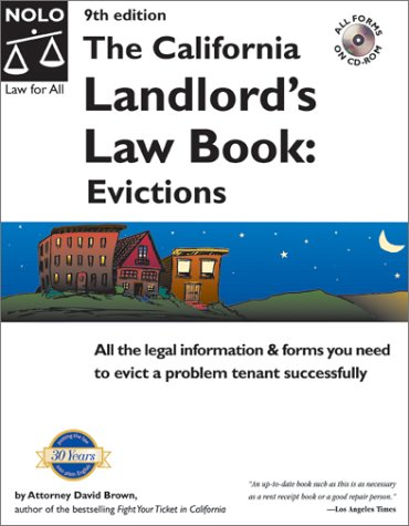 9780873377805: The California Landlord's Law Book: Evictions (California Landlord's Law Book Vol 2 : Evictions)