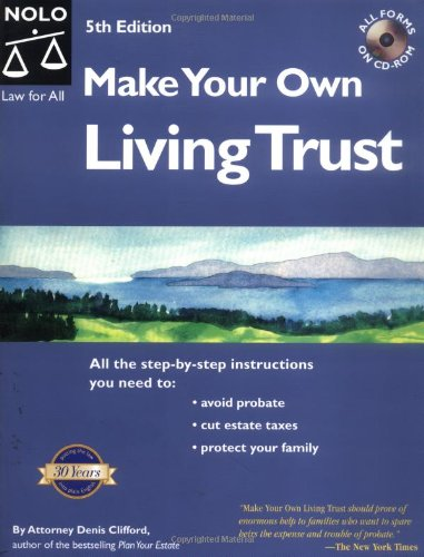 9780873377812: Make Your Own Living Trust with CDROM
