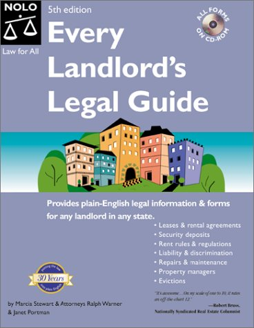 9780873377942: Every Landlord's Legal Guide (Every Landlords Legal Guide, 5th ed)