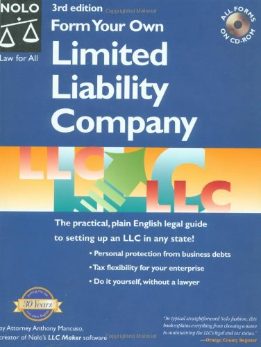 9780873377973: Form Your Own Limited Liability Company