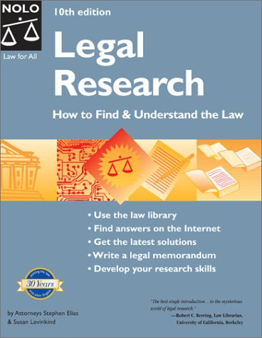9780873378352: Legal Research: How to Find & Understand the Law