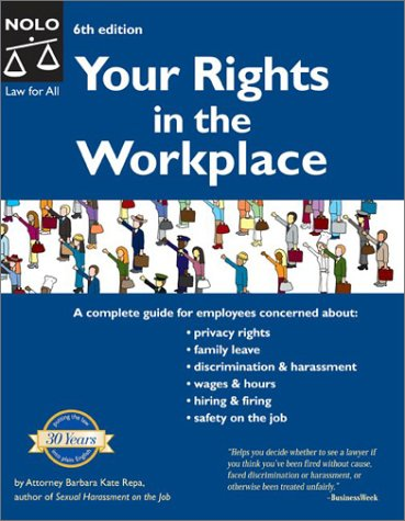 9780873378369: Your Rights in the Workplace, Sixth Edition