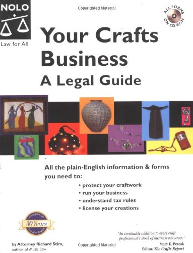 9780873378383: Your Crafts Business: A Legal Guide