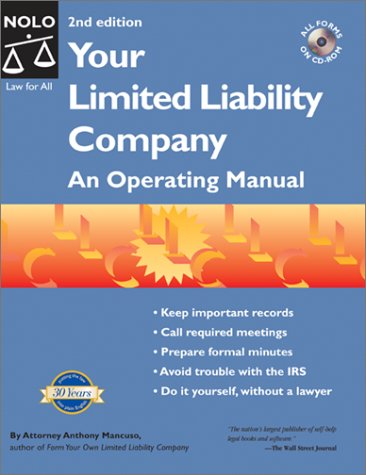 9780873378451: Your Limited Liability Company: An Operating Manual