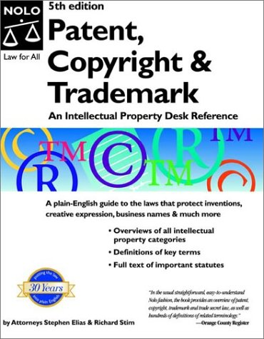 9780873378482: Patent, Copyright & Trademark, Fifth Edition