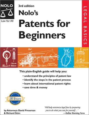 9780873378505 nolos patents for beginners abebooks david 9780873378505 nolos patents for beginners solutioingenieria Image collections