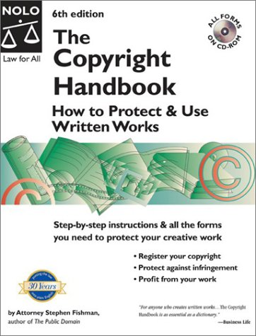 9780873378550: The Copyright Handbook: How to Protect & Use Written Works with CDROM with CDROM