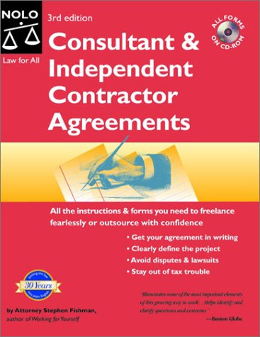 9780873379007: Consultant & Independent Contractor Agreements, Third Edition
