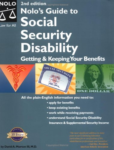 9780873379144: Nolo's Guide to Social Security Disability: Getting & Keeping Your Benefits
