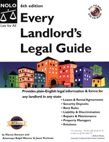 9780873379236: Every Landlord's Legal Guide with CDROM (Every Landlord's Legal Guide (W/CD))