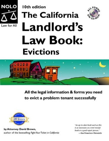 9780873379328: The California Landlord's Law Book: Evictions (CALIFORNIA LANDLORD'S LAW BOOK VOL 2 : EVICTIONS)
