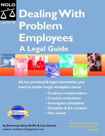 9780873379687: Dealing With Problem Employees: A Legal Guide