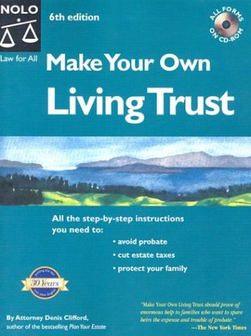 9780873379854: Make Your Own Living Trust