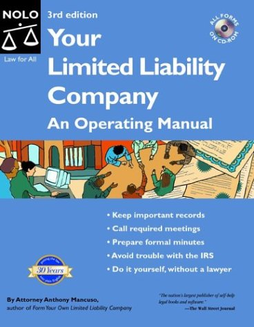 9780873379991: Your Limited Liability Company: An Operating Manual