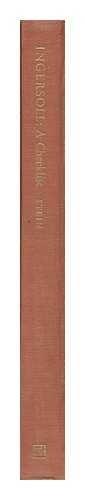 9780873380478: Robert G. Ingersoll: A Checklist (Serif series: bibliographies and checklists)
