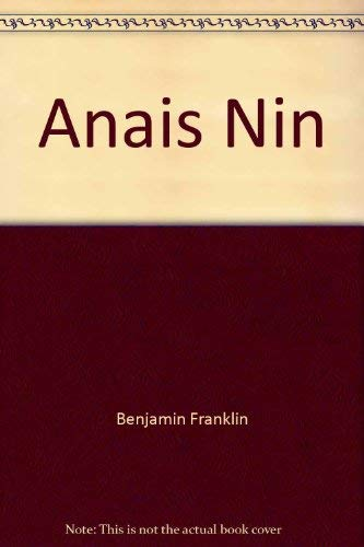 9780873381376: Anais Nin: A bibliography (The Serif series: bibliographies and checklists)