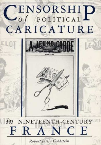9780873383967: Censorship of Political Caricature in Nineteenth-Century France