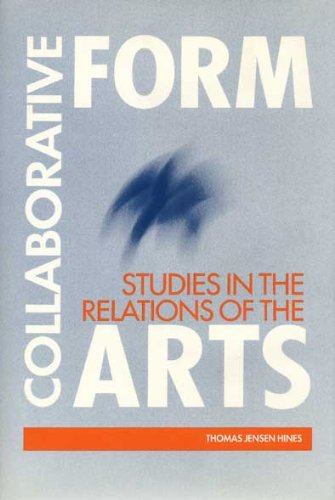 9780873384179: Collaborative Form: Studies in the Relations of the Arts