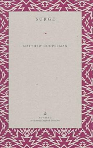 Surge (Wick Poetry Chapbook Series, 2): Matthew Cooperman
