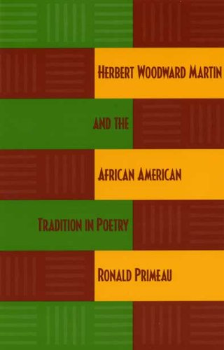 9780873387934: Herbert Woodward Martin and the African American Tradition in Poetry