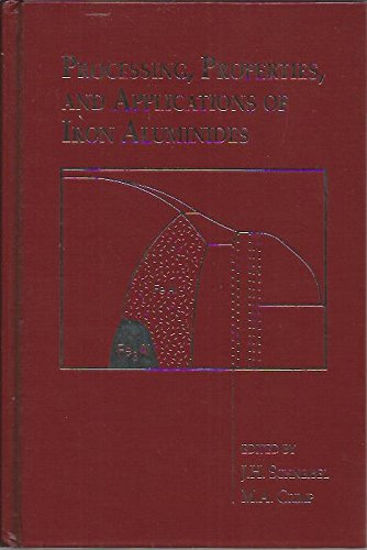 9780873392402: Processing, Properties, and Applications of Iron Aluminides: Proceedings of a Symposium Sponsored by the Asm/Msd Flow Fracture Committee, the Smd Ph