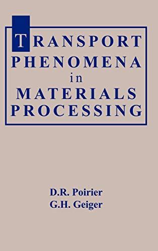 9780873392723: Transport Phenomena in Materials Processing