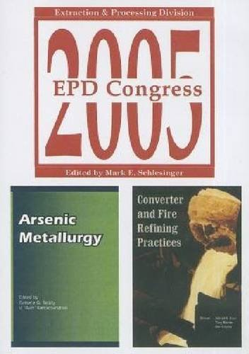 9780873395816: EPD Congress 2005: Extraction and Processing Division (CD includes