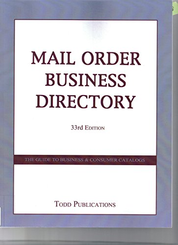 Mail Order Business Directory (Paperback)
