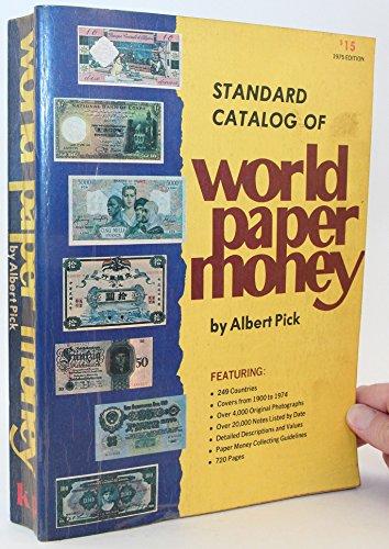 9780873410021: STANDARD CATALOG OF WORLD PAPER MONEY