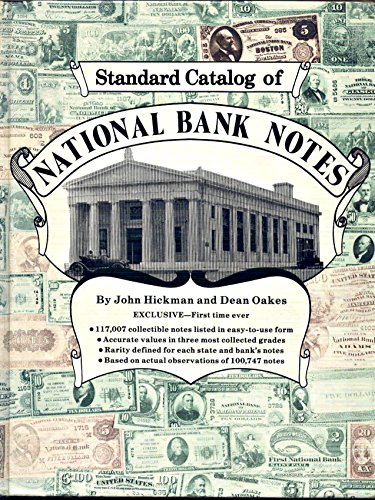 9780873410267: Standard Catalog of National Bank Notes