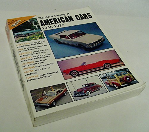 9780873410274: Standard catalog of American cars, 1946-1975