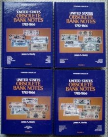 9780873410434: Standard Catalog of United States Obsolete Bank Notes 1782-1866: Volumes One, Two, Three, and Four