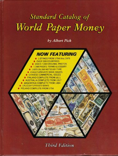 9780873410526: Standard catalog of world paper money