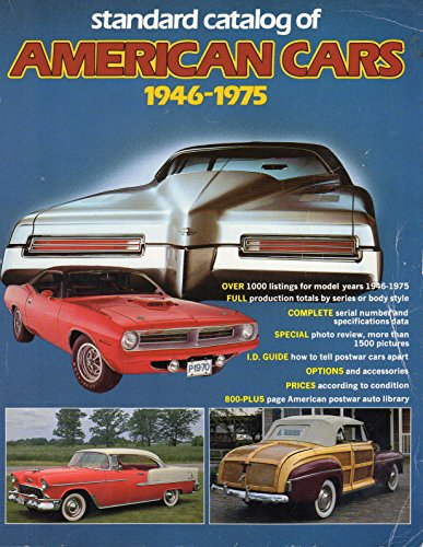 9780873410960: Standard Catalogue of American Cars, 1946-75