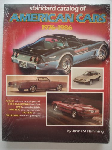 Standard Catalog of American Cars, 1976-86 (0873411137) by Flammang, James M.