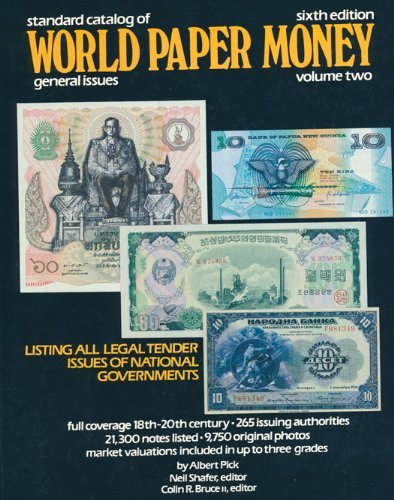 9780873411288: Standard Catalog of World Paper Money: General Issues v. 2 (Standard Catalog of World Paper Money: Vol.2: General Issues)
