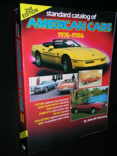 Standard Catalog of American Cars, 1976-1986 (0873411331) by Flammang, James M.