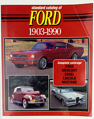 9780873411400: Standard Catalog of Ford, 1903-1990