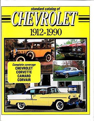 9780873411417: Standard Catalog of Chevrolet, 1912-1990