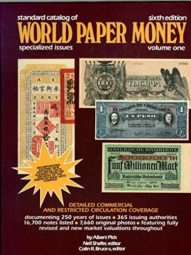 9780873411493: Standard Catalog of World Paper Money, Sixth Edition, Vol. 1