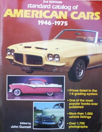 9780873412049: Standard Catalog of American Cars, 1946-1975